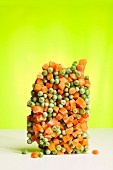 Frozen peas and carrots