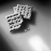 Angebissener Cracker