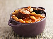 Bean stew from Asturias (Spain)