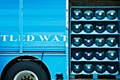 Bottled Water on Delivery Truck