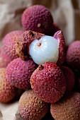 Several lychees