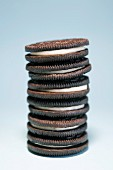 Stack of Sandwich Cookies