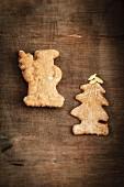 Home-made Spekulatius (German Christmas shortcrust biscuits)