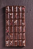 Cranberry and coconut chocolate