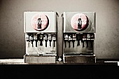 Two Automated Soda Machines