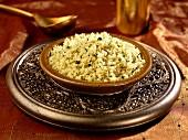 coriander lemon cous cous