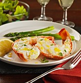 lobster tails with lemon butter and thyme