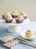 Union Jack fairy cakes