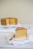 Brittle cake (USA)