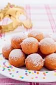 Castagnole (Italian carnival cakes)