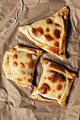 Empanadas (stuffed pastry parcels)