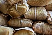 Tamales (corn parcels)