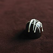 A chocolate praline