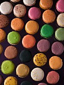 A selection of macaroons