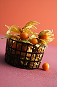 A basket of physalis