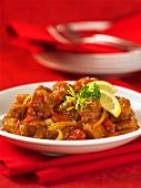 Flamenco stew (pork ragout)