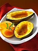 Würziger Kürbis mit Orangensauce