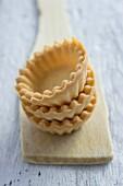 stack of sweet tart shells