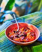 Chili con Carne mit Aprikosen
