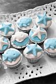 Maritime cupcakes
