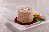 Goose liver pâté with cranberries