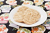 Skull-shaped biscuits from Mexico
