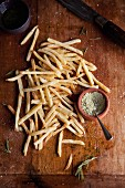 Fries with herb salt