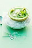 Kiwi and melon soup