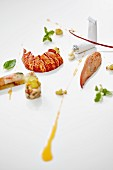 Variations of lobster with mayonnaise