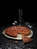 Frangipane tart for Christmas