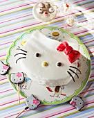 A 'Hello Kitty' birthday cake