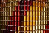 Stacks and stacks of jars of honey