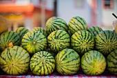 Gestapelte Wassermelonen