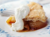 Pan-baked apple pie