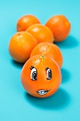Orangengesicht