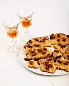 Sbrisolona tart with almonds (Mantua, Italy)