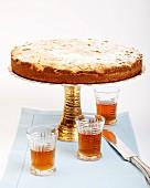 Mantovana cake (almond cake, Italy)