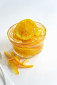 Marmalade with candied orange zest