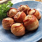 Potatoes wrapped in bacon (Spain)