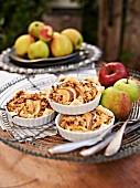 Herzhafter Apfel-Zwiebel-Kuchen mit Schinken