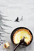 Cheesecake with orange cream (Christmas)