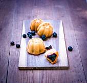 Odenwald blueberry and hazelnut cake