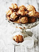 Coconut and orange macaroons