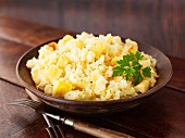 Mashed potatoes with parsnips