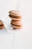 Gingerbread macaroons