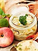 Egg salad for an autumnal picnic