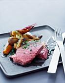 Tellerfleisch mit Wurzelgemüse