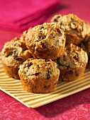 Cranberry and pistachio muffins