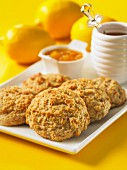 Lemon drop scones