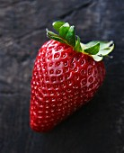 A juicy strawberry